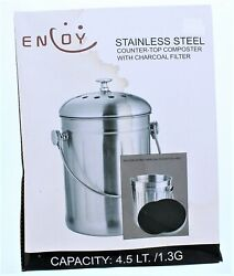 Enjoy Stainless Steel Counter Yop Composter $39.99