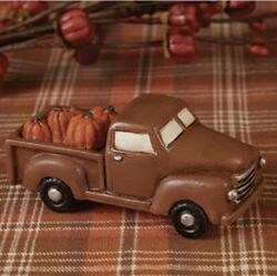 Little Truck With Pumpkins Tiny Fall Decor Primitive Rustic Country $9.95
