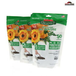 Jobe#x27;s Organics All Purpose Fertilizer Spikes 50 Count 3 Pack Free Shipping $27.95