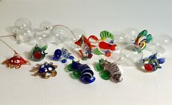 Glass Floating Fish for Decoration Set of 10 Fish Bowl Display $14.99