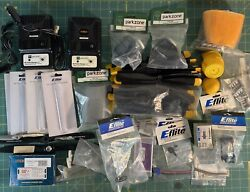 Large Vintage lot RC airplane helicopter parts. Most in Packaging.vintage. 100 $139.95