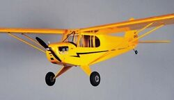 Piper J 3 Cub #505 Herr 1 2A R C Balsa Wood Model Airplane Kit $71.99