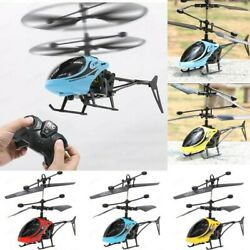 Mini RC Infrared Induction Remote Control 2CH Gyro Sensing Helicopter RC Drone $12.99