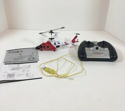S111G 3.5 Channel Gyro System Infrared Remote Helicopter AS IS FOR PARTS $4.97
