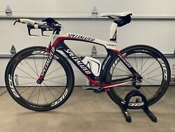 Specialized S Works Transition TT Time Trial Bike Medium Stages Power Meter $2895.00