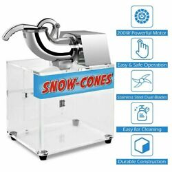Commercial Electric Shaved Ice amp; Snow Cone Machine Great for Frozen Drinks