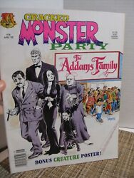 Cracked Monster Party #16 Magazine Addams Family April 1992 $7.99