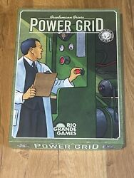 Power Grid Board Game Rio Grande Games Complete Unplayed 2 RARE Expansion Maps $100.00