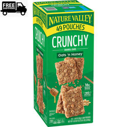 Nature Valley Oats #x27;n Honey Crunchy Granola Bars 98 ct. 1 Pack $19.47