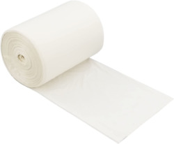 Morcte 100% Biodegradable Compost Bags 1.2 Gallon White 100 Counts $12.68