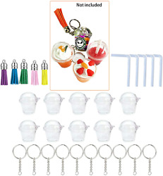 Mini Cup Keychain Personalized DIY Tumbler Frappe Snow Globe Mold For Epoxy 10 5 $16.63
