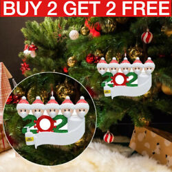 Christmas Ornament Quarantine 2020 Mask Toilet Paper XMAS Family Personalized
