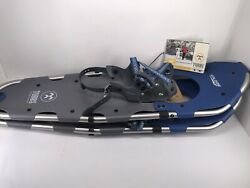 Tubbs Men#x27;s Xplore Snowshoes Blue Silver 30quot; 9#x27;#x27;x30#x27;#x27; New With Tags $99.99