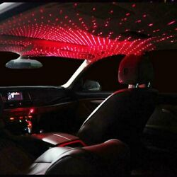 USB Car Interior LED Light Roof Room Atmosphere Starry Sky Lamp Star Projector $7.95