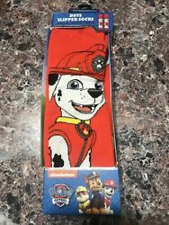Paw Patrol Boys Slipper Socks Special Gripper Soles One Size Fits Most Marshall $14.50