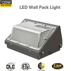 120W LED Wall Pack Outdoor Commercial Industrial Light Security Lighting Fixture