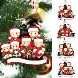 Christmas Ornaments Decoration Xmas Tree Hanging DIY Personalized Family Gifts $2.49