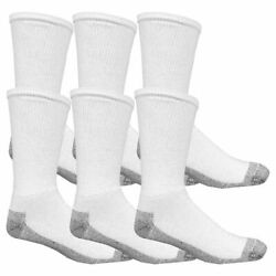 Fruit Of The Loom K8000w6us 12 SocksMens12 16WhitePk6 $8.93