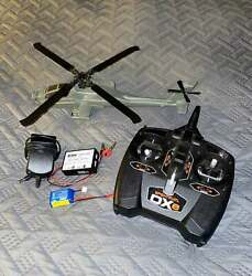 E Flite Blade AH 64 Apache RTF Helicopter Ready To Fly BLH2500 $399.99