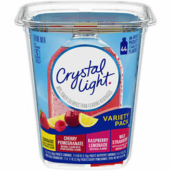 Crystal Light Variety Pack On The Go Powdered Drink Mix 44 ct 4.84 oz Tub $5.99