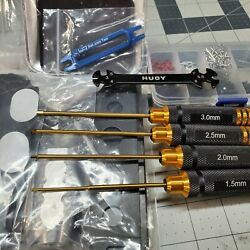RC Tool Set Hex Drivers RC Stand Tool Tray 270pc Hardware wrench balljoint tool $49.99
