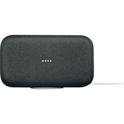 Google Home Max Speaker Smart Wifi Assistant Charcoal GA00223 US