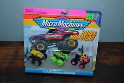 Micro Machines #43 Big Bruisers Collection Unopened and In Original Packaging $74.99
