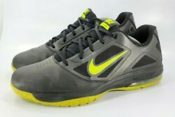 Nike Max Air Athletic Training Shoe Mens Size 11.5 579814 003 Black Yellow