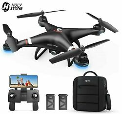 Holy Stone HS110G Selfie RC Drones with 1080P HD Camera Hover 2 BatteryCase GPS $64.99