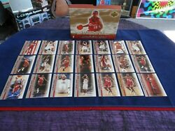 LEBRON JAMES 2003 04 UD PHENOMENAL BEGINNING 21 ROOKIE CARD BOX SET w GOLD $199.99
