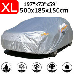 XL Full Car Cover Waterproof Dust Sun Resistant Outdoor For Ford Mondeo Mustang