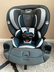 Evenflo® EveryFit 4 in 1 Convertible Car Seat Blue Black open Box And Never Used $130.00