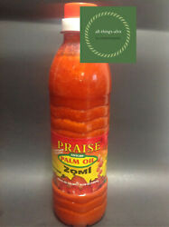 African Authentic Palm Oil Zomi 500mlred oil nigerian palm oil FREE SHIPPING $14.99