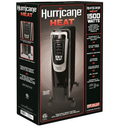 Hurricane Heat whole room radiant heater with digital display and remote 1500 w $80.00