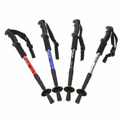 Anti skid Walking Stick Telescopic Hiking Compass Anti shock Adjustable Poles $43.99
