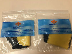 Impacto Protective Products 503 20 Fingerless Palm Side Impact Gloves Sz L LR $10.00