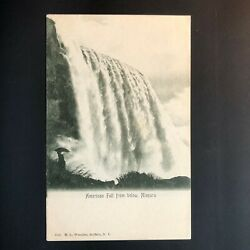 Antique Niagara Falls American Fall From Below H.L. Woehler Buffalo NY UNPOSTED $19.14