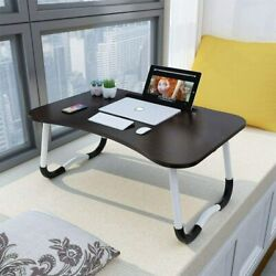 Foldable Portable Laptop Stand Bed Lazy Laptop Table Small Desk Breakfast Tray $23.14