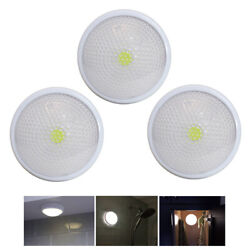 3 Pack LED Touch Night Lights Closet Counter Tap Lamps Battery Powered Emergency $19.99