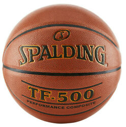 Spalding TF 500 Indoor Game 29.5quot; Basketball Performance Composite Full Size $34.99