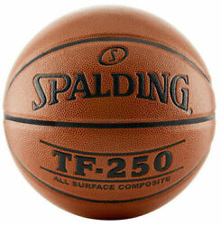 Spalding TF 250 Indoor Outdoor 28.5quot; Basketball Surface Composite Intermediate $27.99