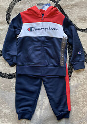 Toddler Boys Champion Two Piece Jumpsuit Size 3T NWT $49.99