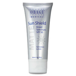 Obagi Sun Shield Matte SPF 50 Sunscreen Lotion 3 fl oz. exp. 01 22 New In Box $30.45