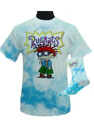 Nickelodeon Rugrats Chuckie Casual Men's Graphic Tee T Shirt Large Socks $13.90
