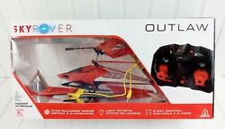 Sky Rover Outlaw Remote Control Helicopter Works $17.95