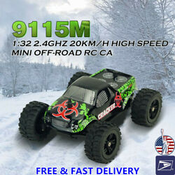 1:32 4CH 2.4GHz 20km h 2WD Mini Off Road RC Racing Car Truck Vehicle Remote Toy $22.99
