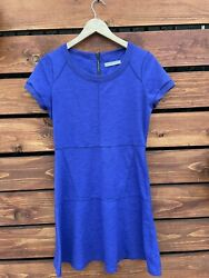 Athleta Womens Royal Purple Dress Size Small $12.95