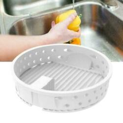 Plastic Gaxeful Sink Strainer Kitchen Filter Drain with Post Stopper Waste Plug $4.09