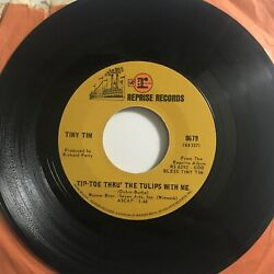 Tiny Tim: Tip Toe Thru The Tulips With Me Fill Your Heart Record Vinyl 45 Rpm $10.50