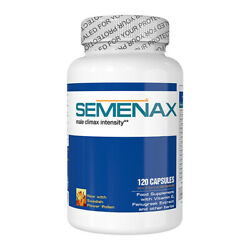 SEMENAX Natural Daily Supplement 1 Month Supply Bottle 120 Capsules $59.95